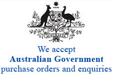 we accept Australian Government orders and enquires